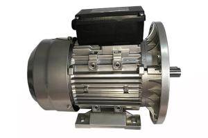 China 0.5HP Light Weight Single Phase Induction Motor C/U Bearing For Equipment Machine on sale
