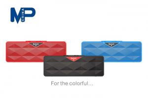 China Wireless iPad / tablet PC cube Bluetooth speaker with radio and SD card reader on sale