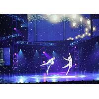 Fireproof Fabric 6m x 4m DJ DMX LED LED Curtain Lights RGB stage backdrop led lighted black led curtain