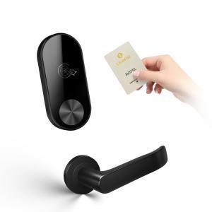 China Waterproof Room Door Locks Smart Magnetic Stanard RF Card Key Hotel Software on sale