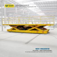 material handling lifting trolley with scissor lifting table transfercarriage