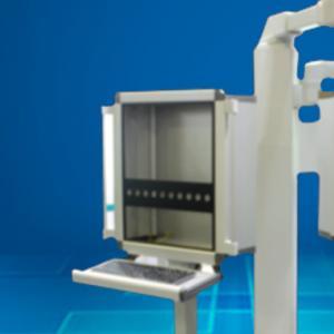 China Aluminum Alloy Operator Console Enclosure , Pendant Arm Electrical Control Box on sale