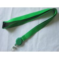 Business Card Holder Polyester Custom Pull Reel Lanyard