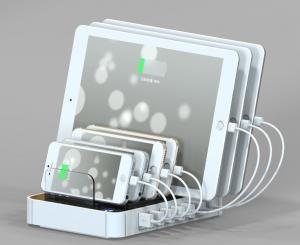 China Logo customized portable usb wall charging station(CR760) on sale