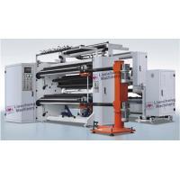 China Adhesive Paper / Film Roll Label Rewinder Machine Perfect Integration Design on sale
