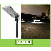 China all in one sensor street light, material AL, all in one intergated solar led street lights, manufactuer