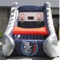 Fun Inflatable Interactive Games Charlotte Bobcats Inflatable Kids Games Basketball Shot