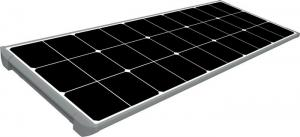 China Integrated Solar Outdoor Led Street Light 80w 110lm / W With Mono Solar Panel on sale