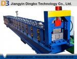 Hydraulic Cutting 45# Forged Color Steel Rain Gutter Roll Forming Machine