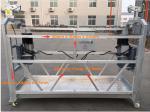 Electric Suspended Scaffold Platform , Aluminum Alloy Aerial Work Platform