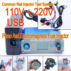 China ERIKC test machine diesel common rail injector oil pressure testing equipment CR Bosch injector measuring tools on sale