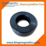 EMIのノイズ・フィルタ共通モード チョークのためにナノ結晶円環形状の形