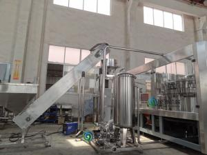 China Ectric Water Bottling Machine SS304 Bottle Filling Plant For Mineral Water on sale