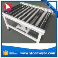 China Stainless Steel Motorized Roller Conveyor,90 Degree Transfer Table on sale