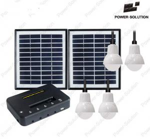 China Portable Solar System with 3 Lamps and Mobile Phone Charging 10W20W mini solar home system on sale