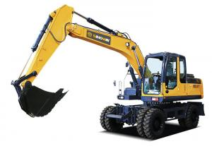 China 19ton Soil Moving Machinery Mobile Excavator on sale
