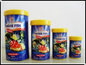 China Marine Fish Flake Dried Fish Food on sale