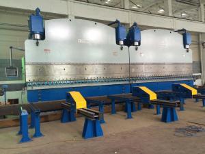 China High rigidity cnc hydraulic press brake bending machine With DA56 or DA66T Controller on sale