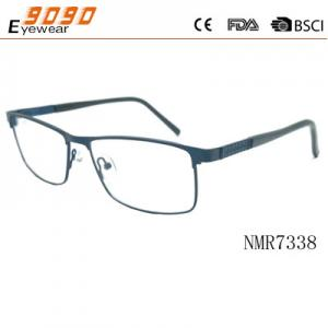 China Hot selling  retro  reading glasses with Stainless Steel , Power rang : 1.00 to 4.00D on sale