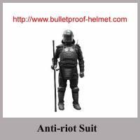 China Anti costumes d'émeute avec le bâton et le casque d'anti-émeute on sale