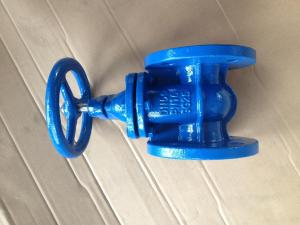 China (DIN) Cast Iron Gate Valve Flanged Ends on sale