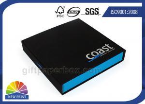 China Caja de regalo del papel del estilo del cigarro para el producto electrónico del empaquetado al por menor on sale