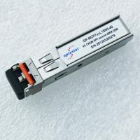 China 4G Fiber Optic Transceiver , Bidirectional Sfp Optical Module 40km 1490nm on sale