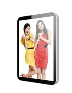 China 15 17 42 Vertical Stand Alone LCD Display Advertising Aluminium Frame , PAL NTSC on sale