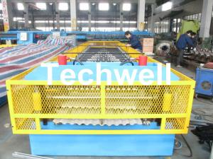 China Steel Silo Wall Sheet Corrugated Roll Forming Machine for Silo Side Panel on sale