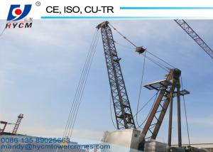 China China 10ton Widely Used Derrick Crane WD100(2420) for Sale on sale