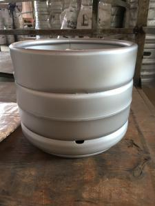 China 10L Slim draft beer keg stackable with diameter 312mm, height 260mm,  for beer brewing on sale