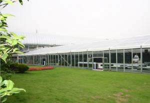 China Outdoor Party Tent Self - Cleaning, Glass Wall Tent For Activity Fair Celebration on sale