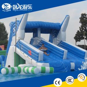 China hot selling outdoor inflatable water slide, inflatable slide on sale