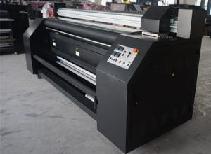 China Epson DX7 Print Head Textile Sublimation Printing Machine With Pigment Ink on sale
