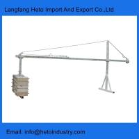 Building maintenance steel ZLP series temporary suspended platform in China