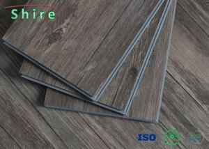 China Wood Grain SPC Vinyl Plank Flooring Environmental Protection SGS Approved on sale
