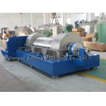 Separador horizontal trifásico azul de la centrifugadora de la centrifugadora de la jarra