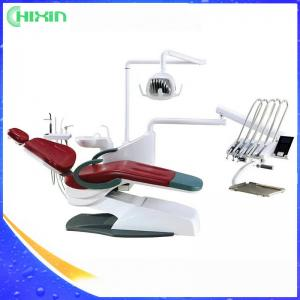 China Integral Dental Unit Dental Chair CE Approved / Sensor Control LED Light, Touch Screen, No with dental stool CX-8000(17) on sale