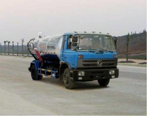 China 9CBM Dongfeng EQ5160GXWT4 Sewage Suction Truck on sale