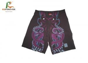 China Multi Pattern Purple Custom Made Boxer Shorts , Outdoor Sports Wear For Kids on sale