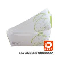 Environmental Friendly Custom Fast Food Packaging , Varnished Chicken Wings Box