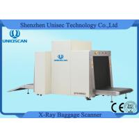 Airport X Ray Baggage Scanner Dual View 100*80cm Opening Size