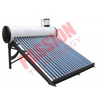 Passive Solar Water Heater Pressurized , Solar Preheat Hot Water Heater 180L