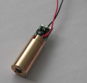 China 532nm 5mw Green Dot Laser Diode Module For Laser Pointer , Laser Stage Light , Electrical Tools And Leveling Instruments on sale