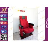 China 3D 4D Plastic High Back Cinema Seating Furniture Comfort Home Cinema Chair on sale