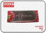 8-97372076-0 8973720760 Standard Crankshaft Metal Set Suitable For ISUZU NKR NPR 4HK1 4HF1