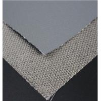 China Single Side Silicone Coated Glass Fiber Fabric Insulation Fire Resistant Silicone Rubber Sheet on sale