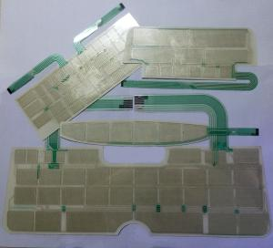 China Rohs compliance high quality Double layer silver conductive flexible printed circuit on sale