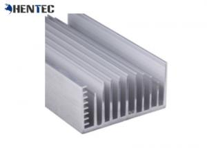 China 6005 Alloy Alodine Aluminum Heat Sink Extrusion Profiles With CNC Machining on sale