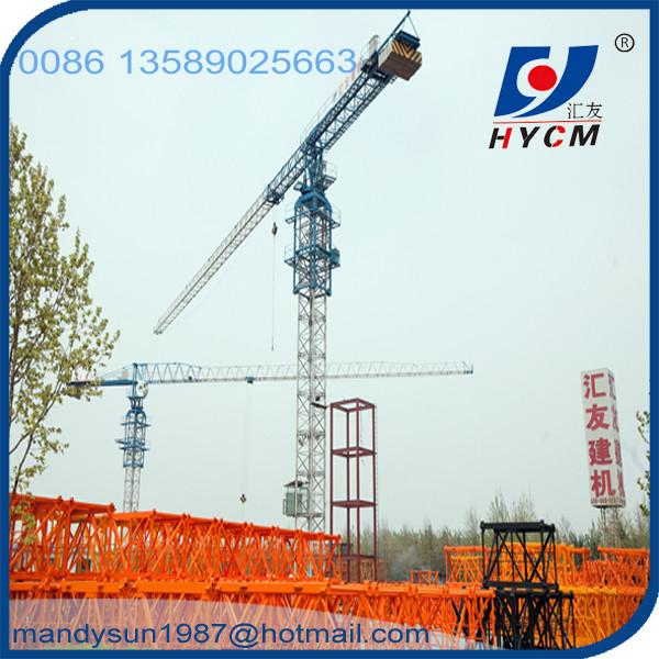 Internal Climbing 4t QTP 5010 Flat Top Tower Crane for sale